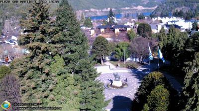 Daylight webcam view from San Martín de los Andes: San Martin de los Andes