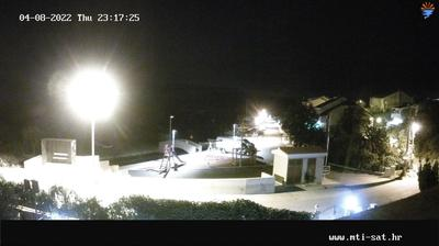 Current or last view from Vrulje: Live Web Cam Bilice