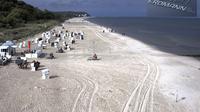 Rankwitz: Pension Erdmann- Strand Heringsdorf Insel Usedom von der Seebr�cke aus - Day time