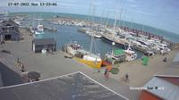 Vestero Havn: Læsø vesterø havn - Overdag