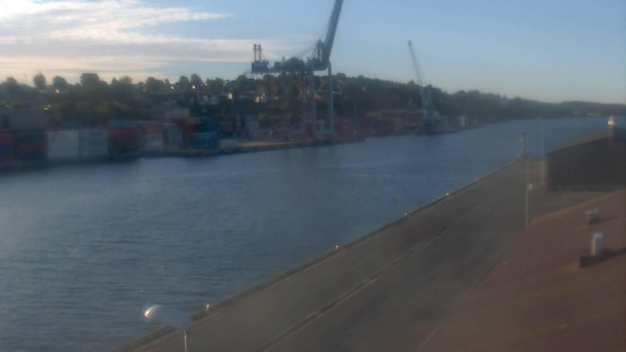 Webcam Moss: Havn: Container Terminal