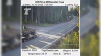 Klamath County: ORE at Willamette Pass - Aktuell