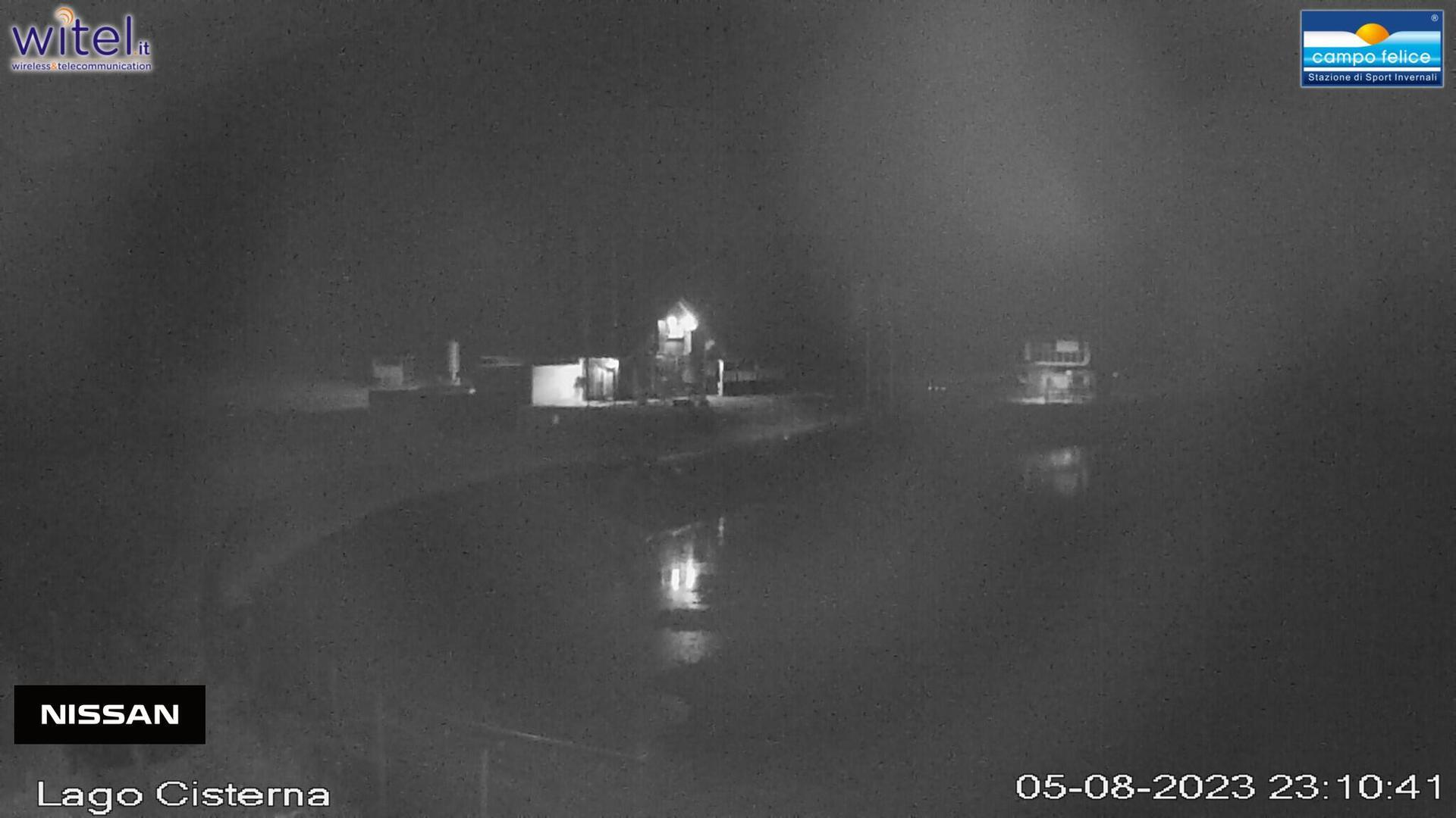 Webkamera Rocca di Cambio: Laghetto e seggiovia Monterotondo