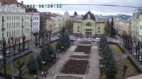 Chernivtsi > West: Teatral'na Square - Recent