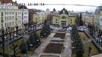 Chernivtsi > West: Teatral'na Square - Overdag