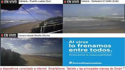 Current or last view from Santa Teresita › South: La Lucila del Mar