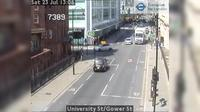 London: University St/Gower St - Overdag