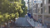 London: Kennington Ln/Vauxhall St - Tageszeit